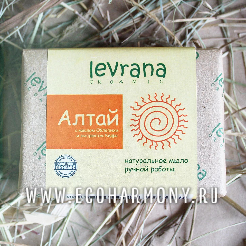 Натуральное органическое мыло алтайские травы
